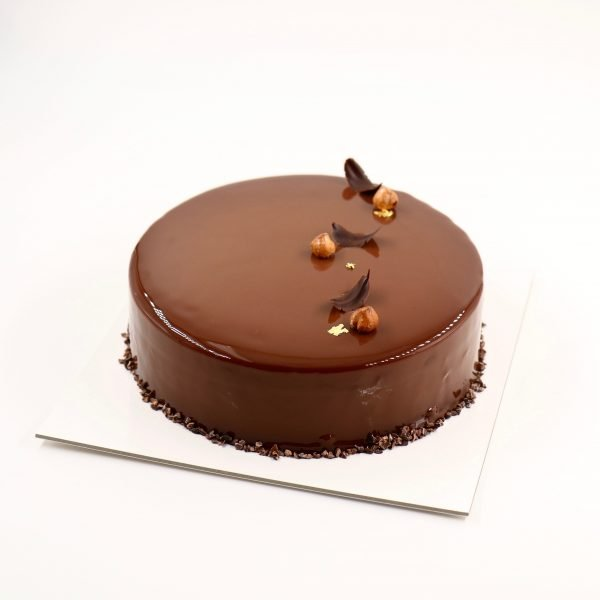 Noisette Hazelnut Chocolate Cake by Patisserie Cle in Singapore
