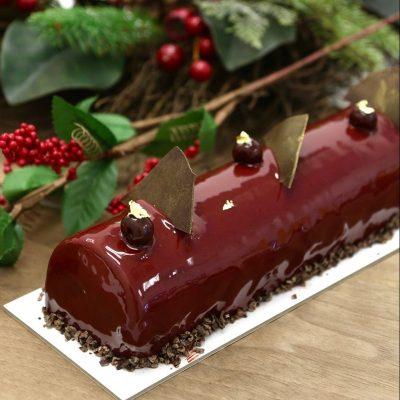 Black Forest Log Cake