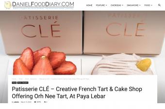 Daniel Food Diary Feature – Mar 2020