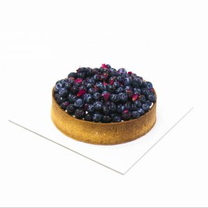 Blueberry Rose Tart